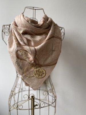 Guess Sciarpa di lana color carne-beige