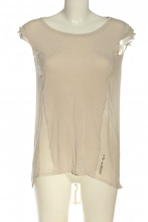 Guess Schlupf-Bluse creme Casual-Look