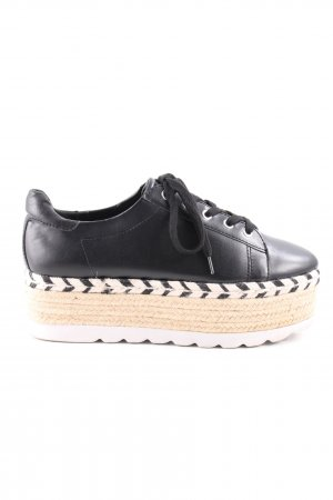 Guess Lace Shoes graphic pattern casual look