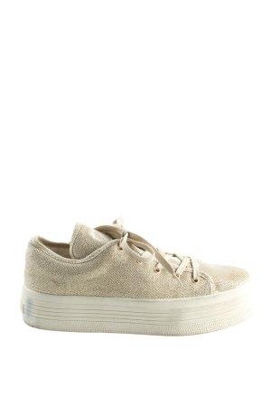 Guess Sneaker stringata crema stile casual