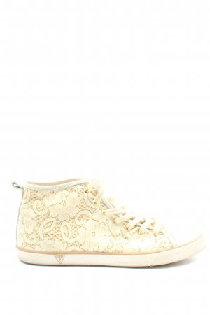 Guess Schnürsneaker creme Casual-Look