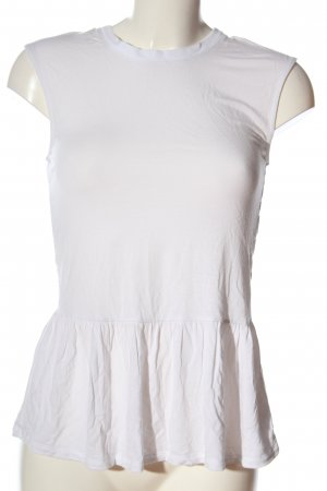 Guess Peplum Top white casual look
