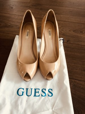 Guess Wysokie obcasy nude