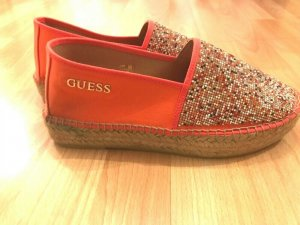 Guess Sailing Shoes multicolored linen