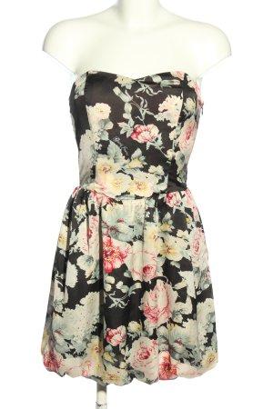 Guess Sukienka bez ramiączek Na całej powierzchni Elegancki