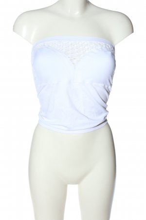 Guess Off the shoulder top wit casual uitstraling