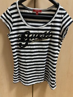 Guess T-shirt zwart-wit
