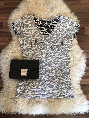Guess Print Shirt black-white