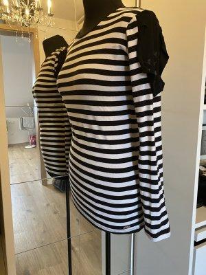 Guess Shirt S 36 longshirt Streifen stretch