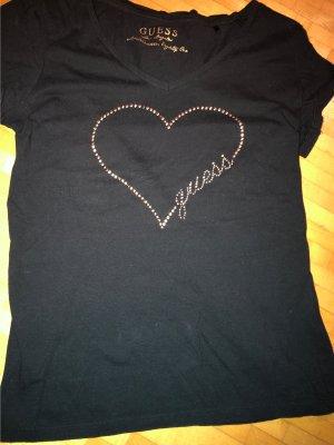 Guess Shirt schwarz Gr. S ( 36)