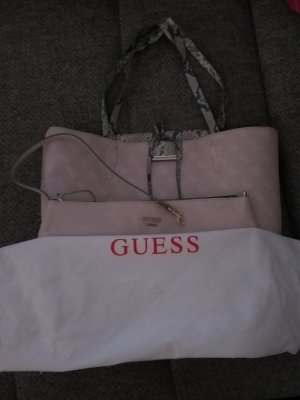Guess Sac réversible or rose