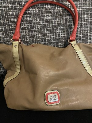 GUESS Los Angeles Shopper grijs-bruin