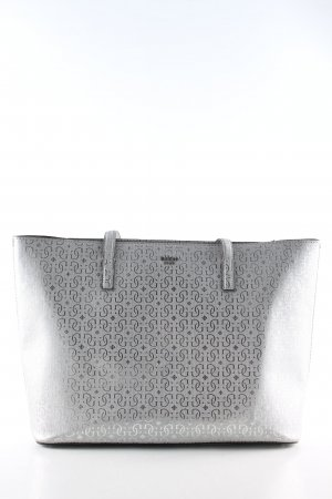 Guess Shopper silver-colored abstract pattern business style