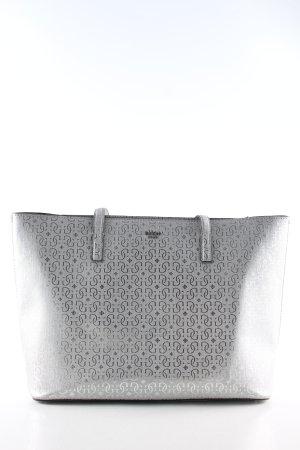 Guess Shopper zilver abstract patroon zakelijke stijl