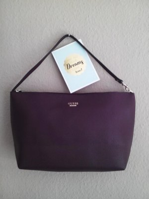 Guess Shopper Tasche in aubergine, neu