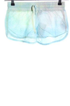 Guess Shorts türkis-blau Farbverlauf Casual-Look