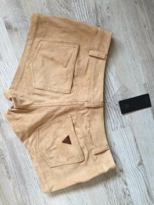 Guess Pantalón corto beige-camel