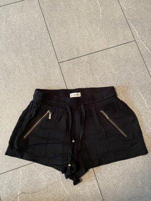 Guess Pantalón corto de tela vaquera negro