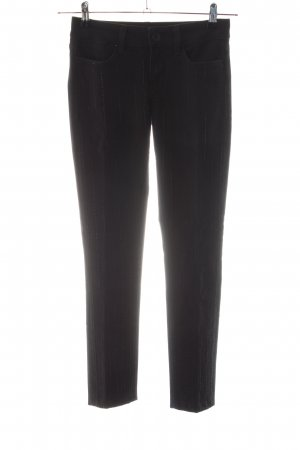 Guess Skinny Jeans schwarz Streifenmuster Business-Look