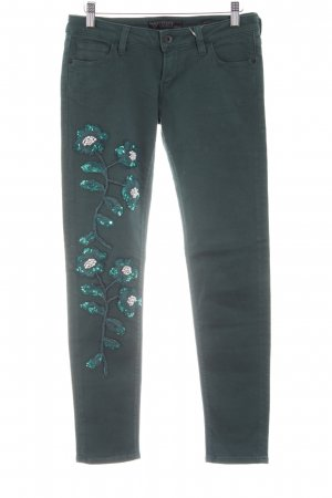 Guess Skinny Jeans grün Casual-Look