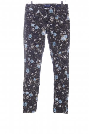 Guess Skinny Jeans Blumenmuster Casual-Look