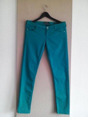 Guess Skinny Jeans in türkis, Modell Beverly, Größe INCH 29