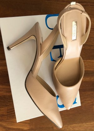 Guess Slingback Pumps nude leather