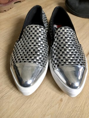 Guess Scarpa slip-on argento