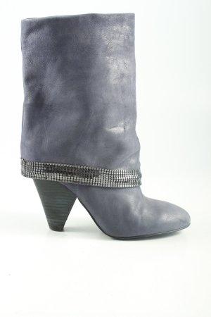 Guess Stivaletto arricciato grigio chiaro stile casual