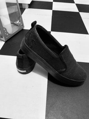 Guess Basket slip-on noir