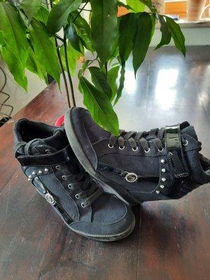 Guess Wedge Sneaker black