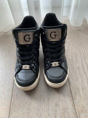 Guess Zapatillas con tacón negro