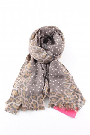Guess Summer Scarf brown allover print extravagant style