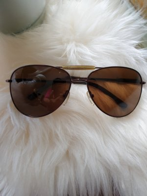 Guess Oval Sunglasses brown