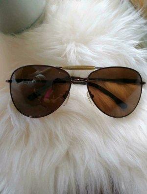 Guess Occhiale da sole ovale bronzo-marrone chiaro