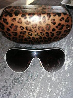 Guess Luxe Owalne okulary przeciwsłoneczne biały