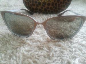 Guess Hoekige zonnebril grijs-bruin
