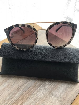 Guess Ronde zonnebril zwart-lichtgrijs