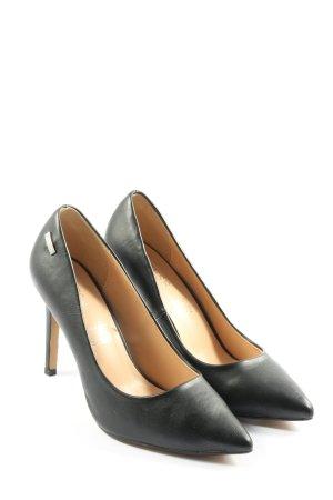 "Guess Zapatos de punta ""W-hp2srr"" negro"