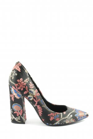 Guess Pointed Toe Pumps flower pattern casual look
