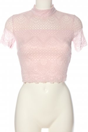 Guess Spitzenbluse pink Casual-Look