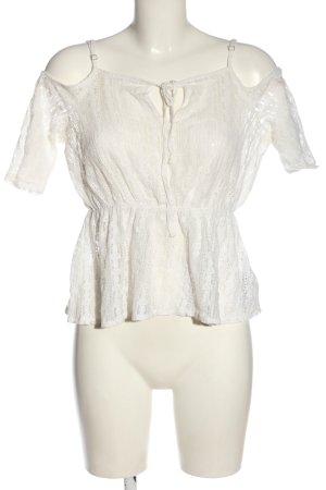 Guess Lace Blouse white elegant