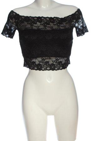 Guess Lace Blouse black elegant