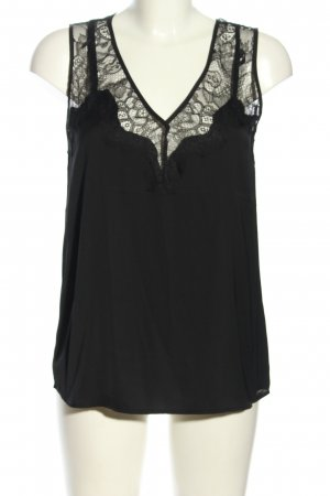 Guess Top de encaje negro look casual