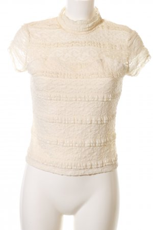 Guess Spitzentop creme Casual-Look