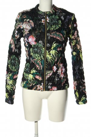 Guess Quilted Jacket flower pattern casual look
