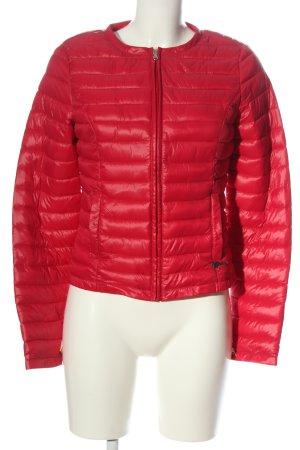 Guess Pikowana kurtka czerwony Pikowany wzór W stylu casual