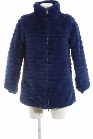 Guess Quilted Coat blue quilting pattern elegant