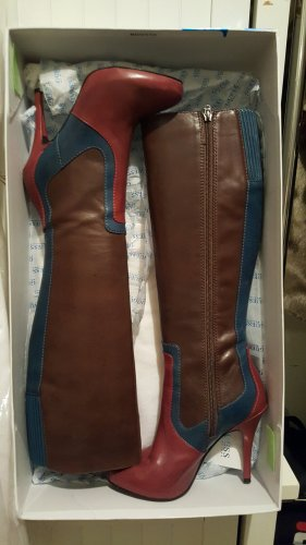 Guess High Heel Boots multicolored leather
