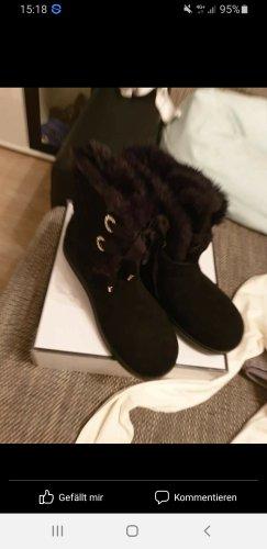 Guess Premium Botas de invierno negro